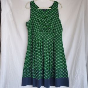 Lands End Fit and Flare Summer Dress